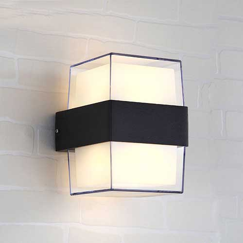 12W Square LED Wall Light-608