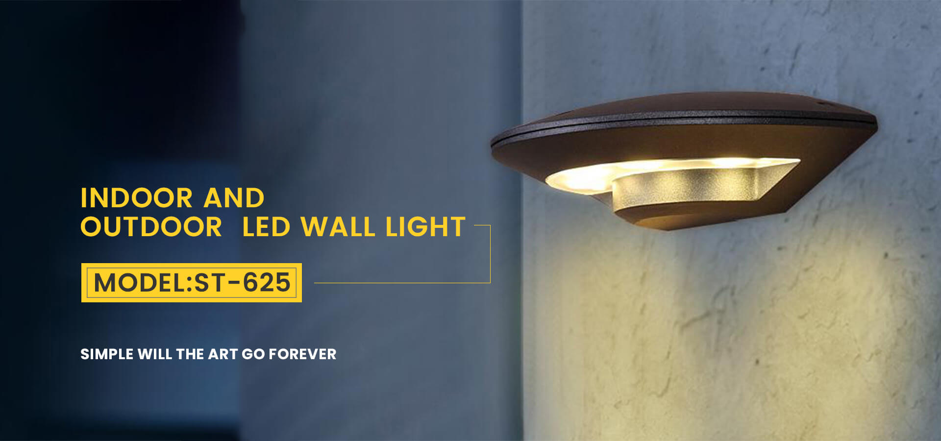 INDOOR AND OUTDOOR LED WALL LIGHT